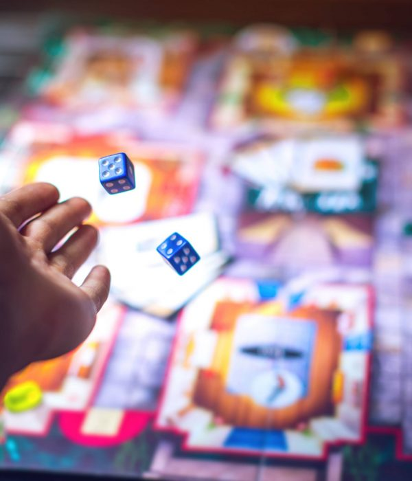 Rolling Dice for board game